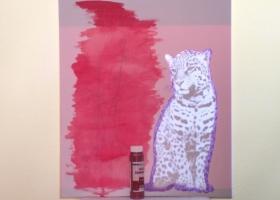 Leopard - erster Schritt